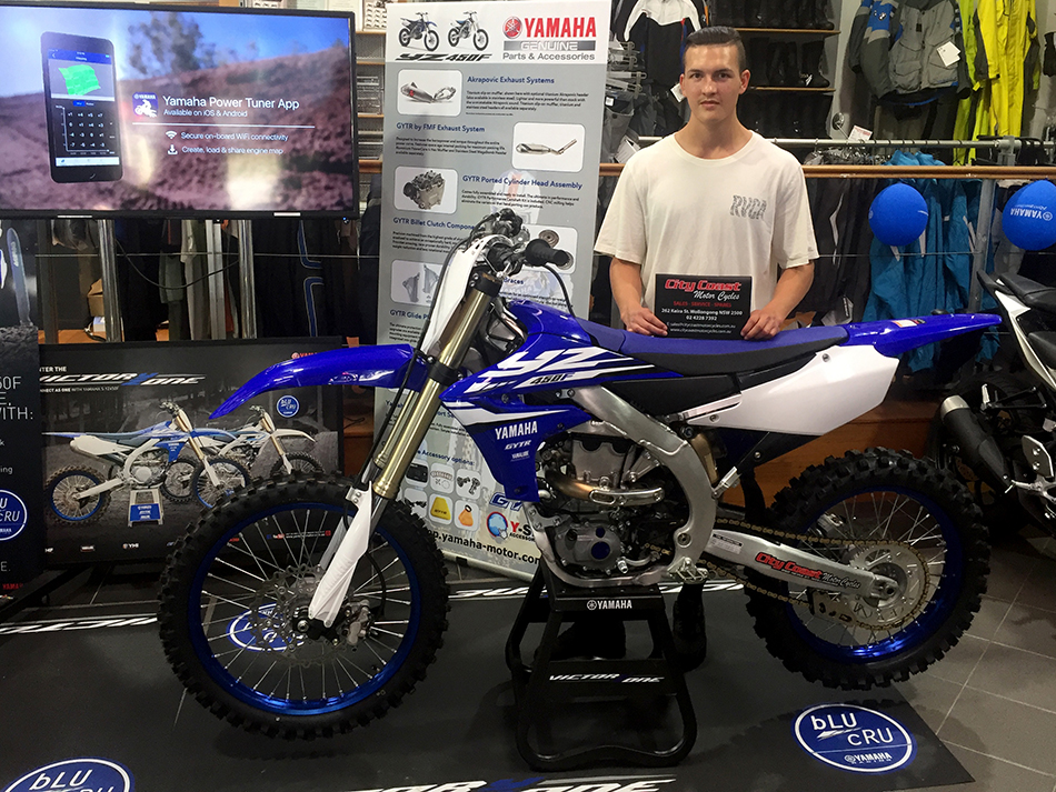 YZ450F launch