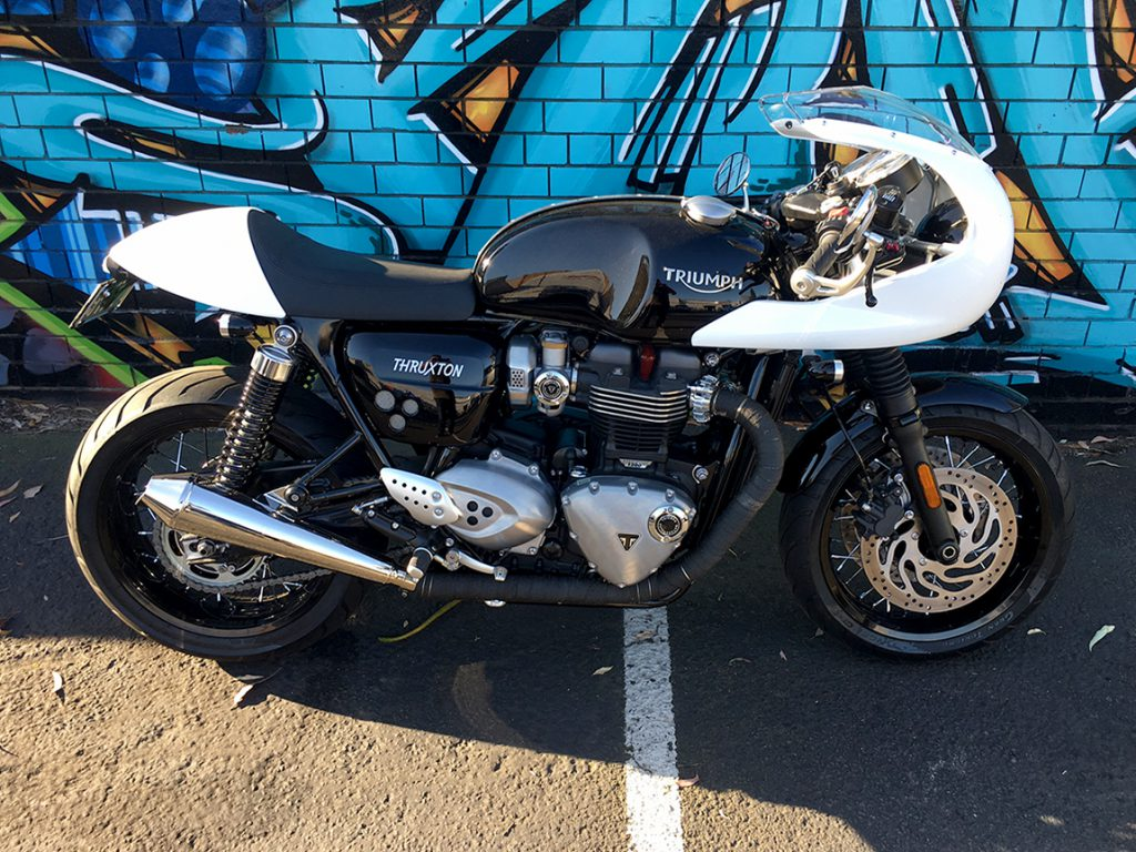 Dean's Thruxton D Customisation