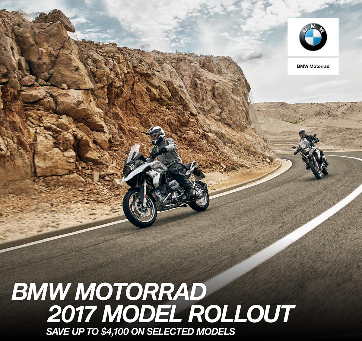BMW Motorrad 2017 Model Rollout