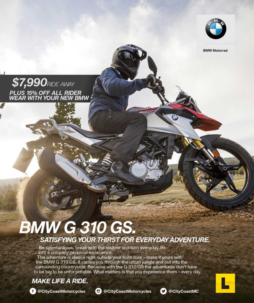 BMW G 310 GS Special