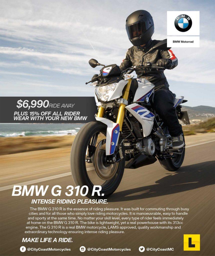 BMW G 310R Special