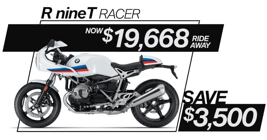 R nineT Racer on Sale