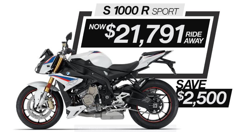 S 1000 R Sport on Sale
