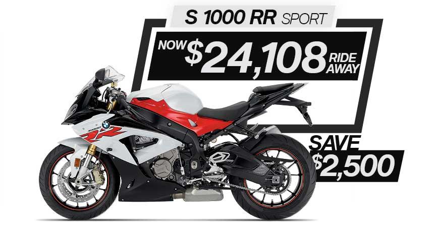 S 1000 RR Sport on Sale