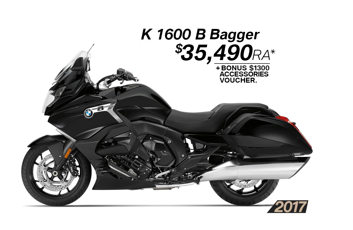 2017 K 1600 B Bagger