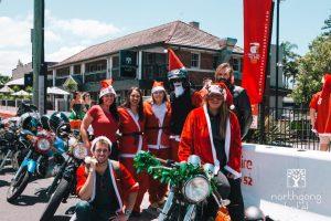 City Coast MC & Litas Wollongong Santa Ride for Charit