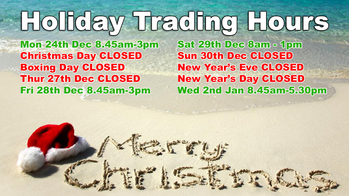 City Coast Motorcycles Christmas Trading Hours