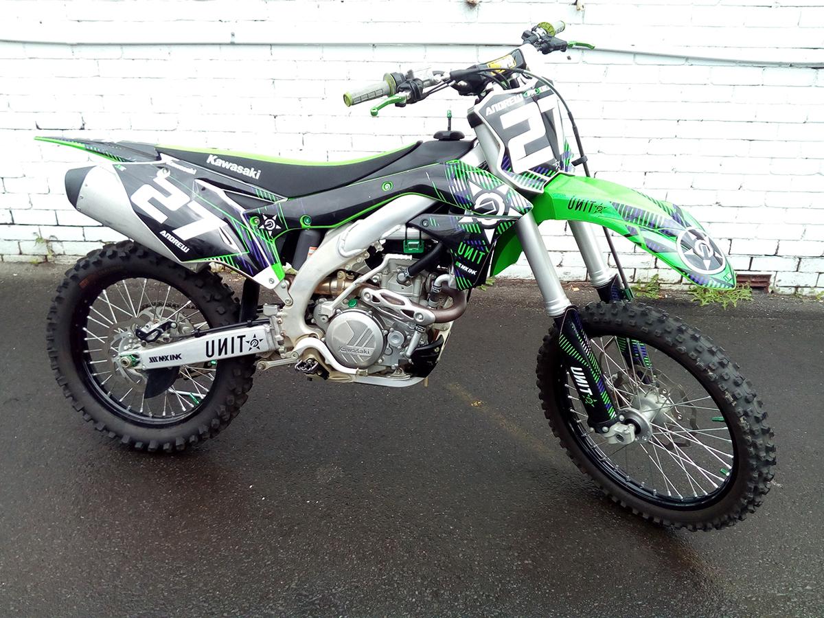 used 2017 KX450F