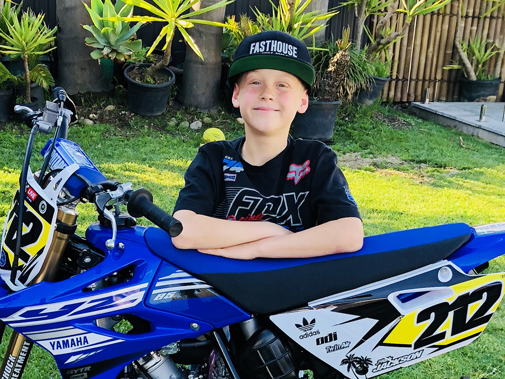 Mitch Jackson MX Team City Coast Motorcycles