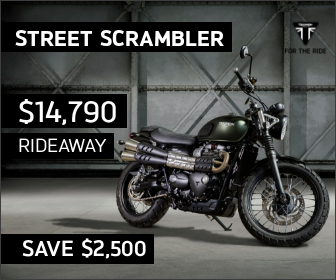 Street Scrambler on Sale at City Coast Motorcycles