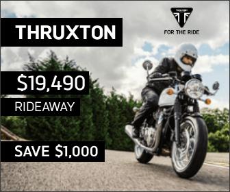 Thruxton on Sale at City Coast Motorcycles