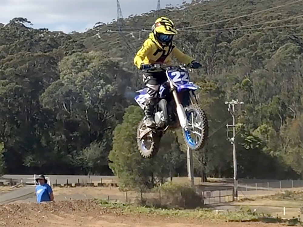 Jacko Woodward MX Team City Coast Motorcycles