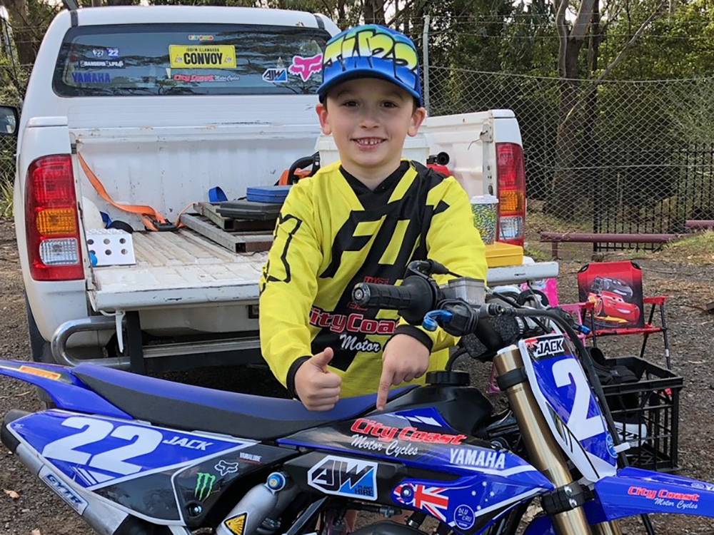 Jacko Woodward profile MX Team City Coast Motorcycle