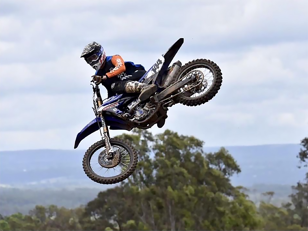 Keiron Hall MX Team City Coast Motorcycles