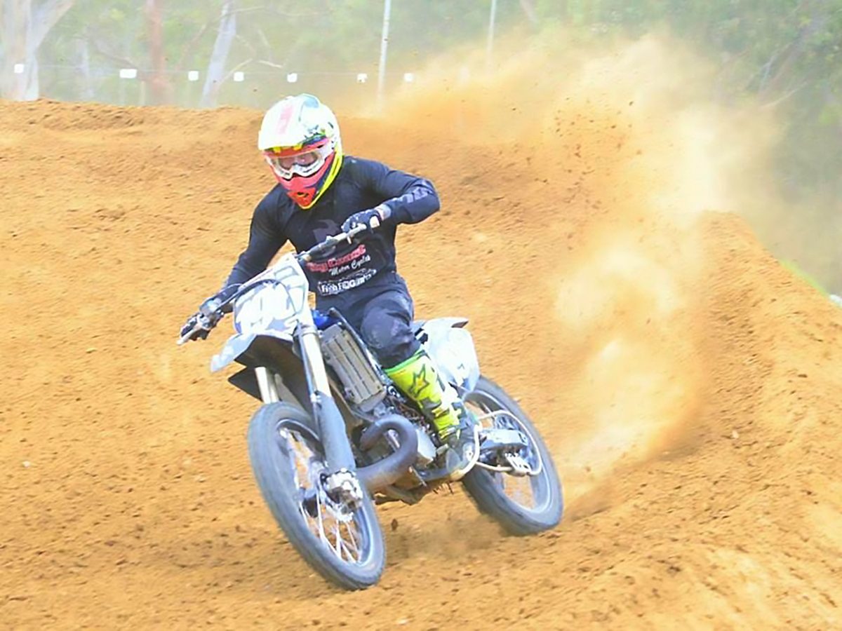 Liam Williams MX Team City Coast Motorcycles