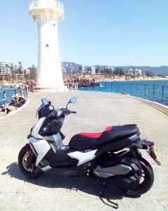 BMW C 400 X at City Coast Motorcycles
