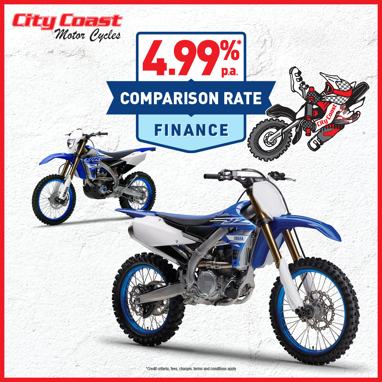EOFY Sale at City Coast Motorcycles