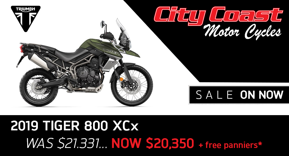 2019 Tiger 800 XCx on Sale