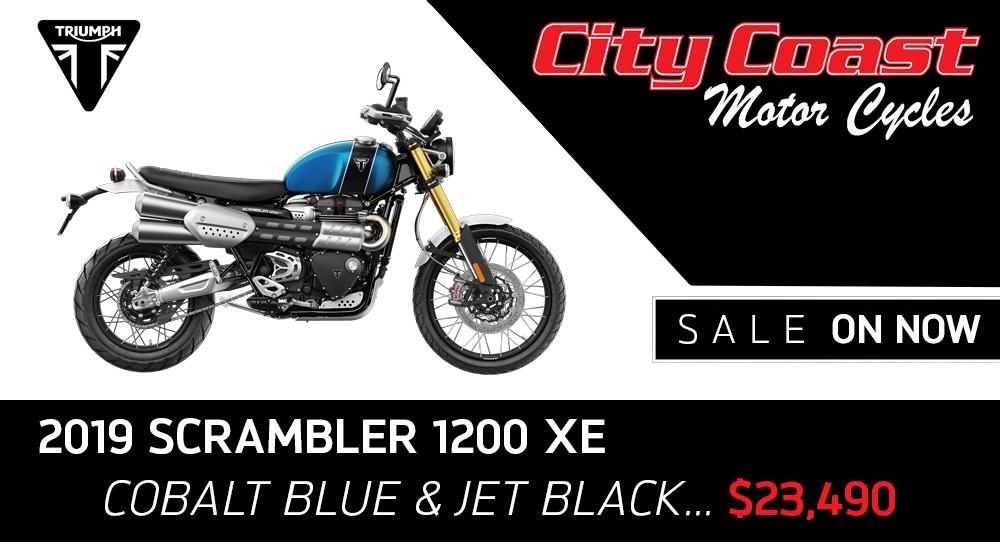 Triumph Scrambler on Sale