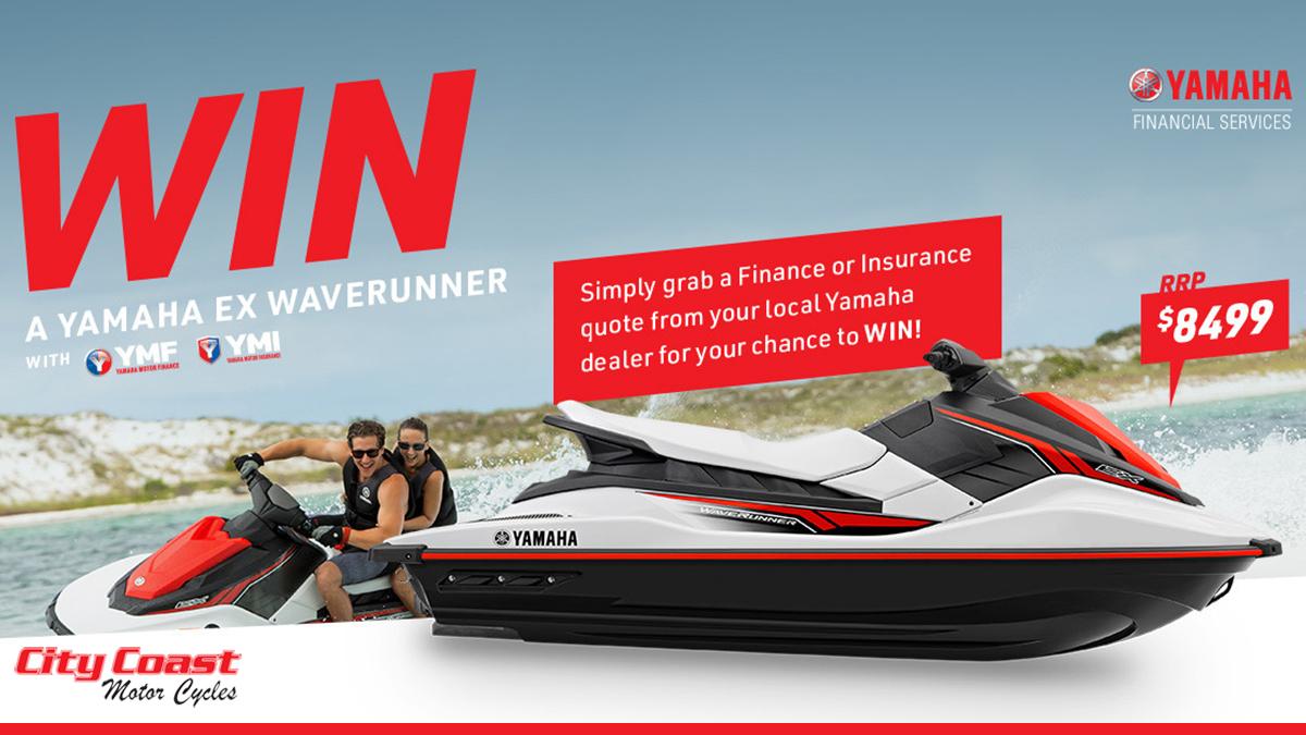 Win a Yamaha EX Waverunner
