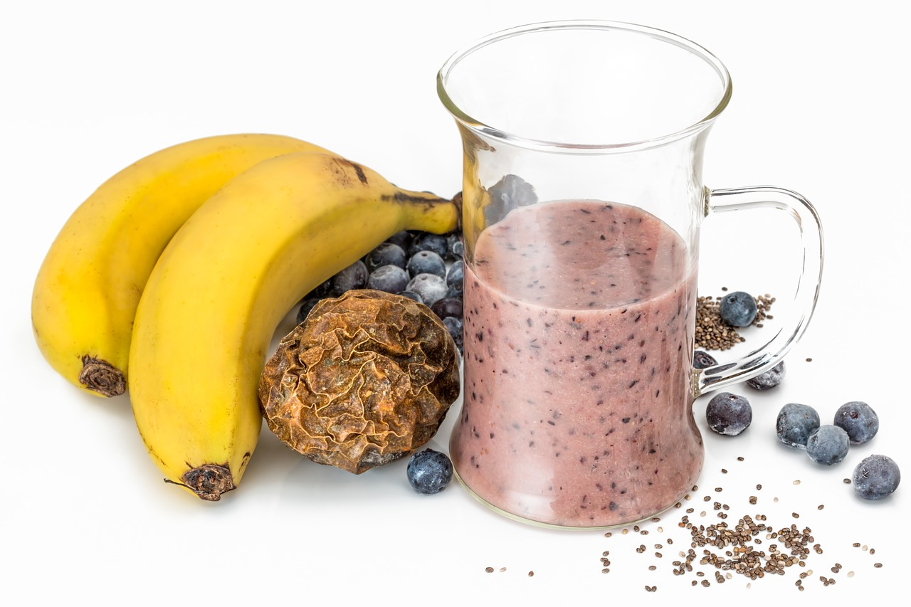 Chia and Banana smoothie