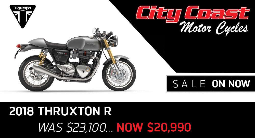 Thruxton R on sale