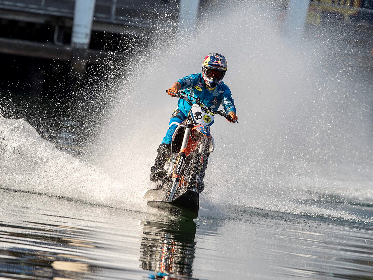 Robbie Maddison at the Australian Motorcycle Festival