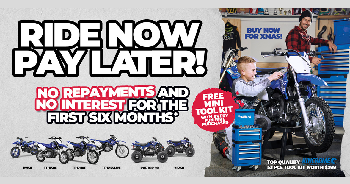 Free tool kit at City Coast Motorcycles