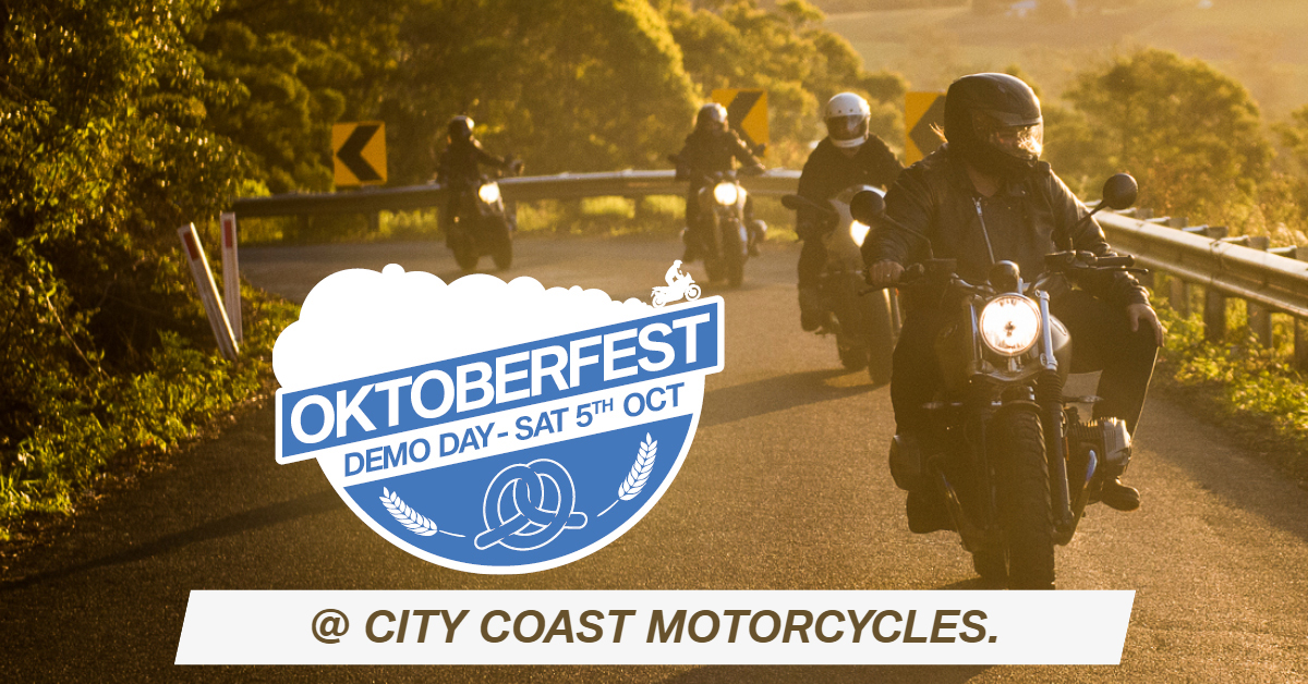 BMW Demo Day at City Coast Motorcycles