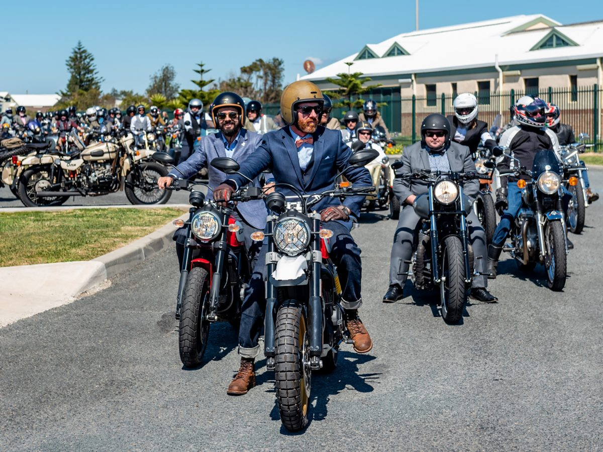 The Distinguished Gentleman's Ride - Wollongong