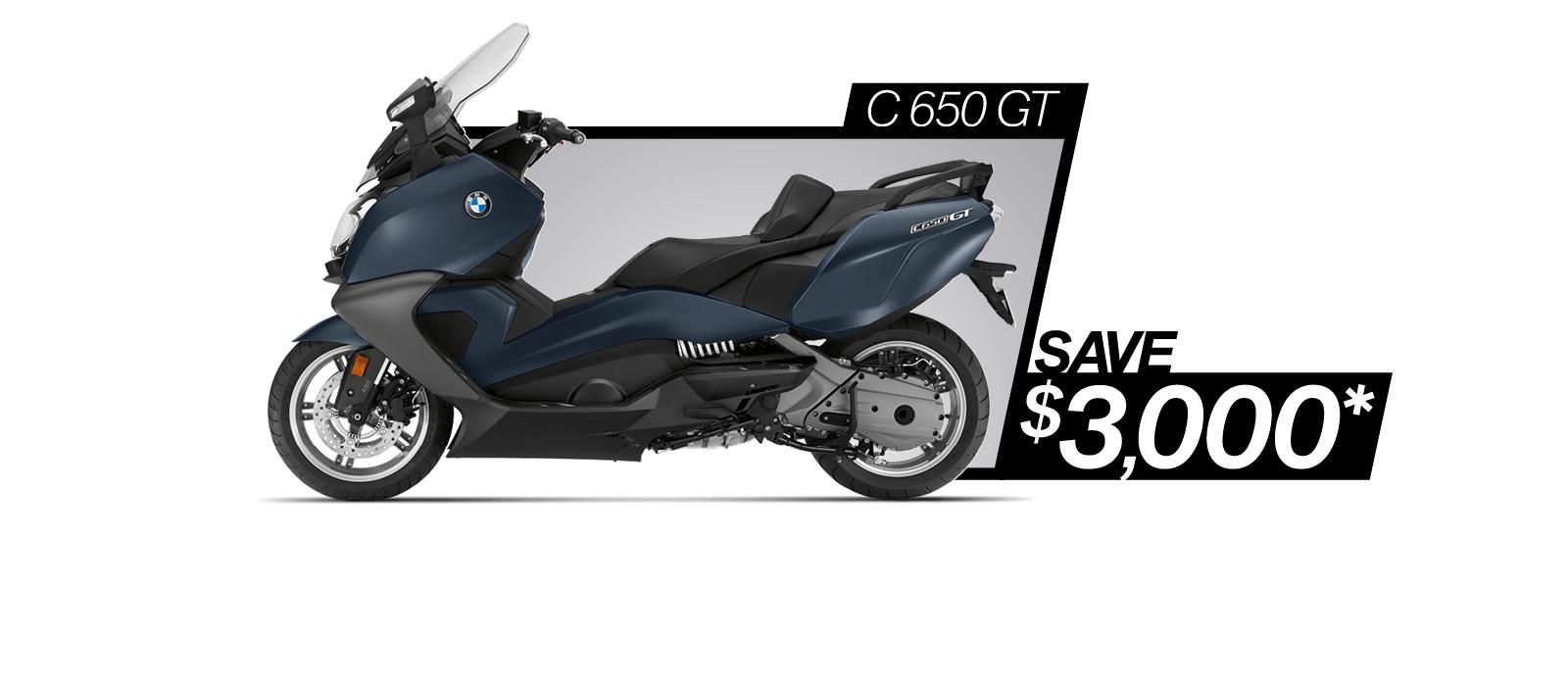 C 650 GT on sale