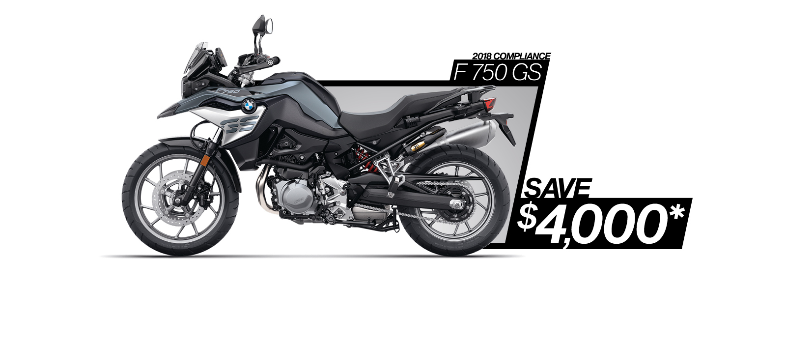 F 750 GS on sale