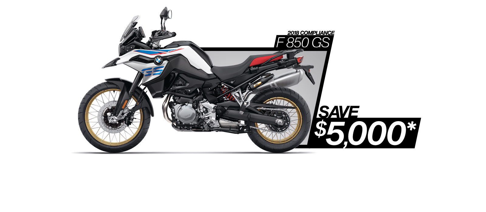 F 850 GS on sale