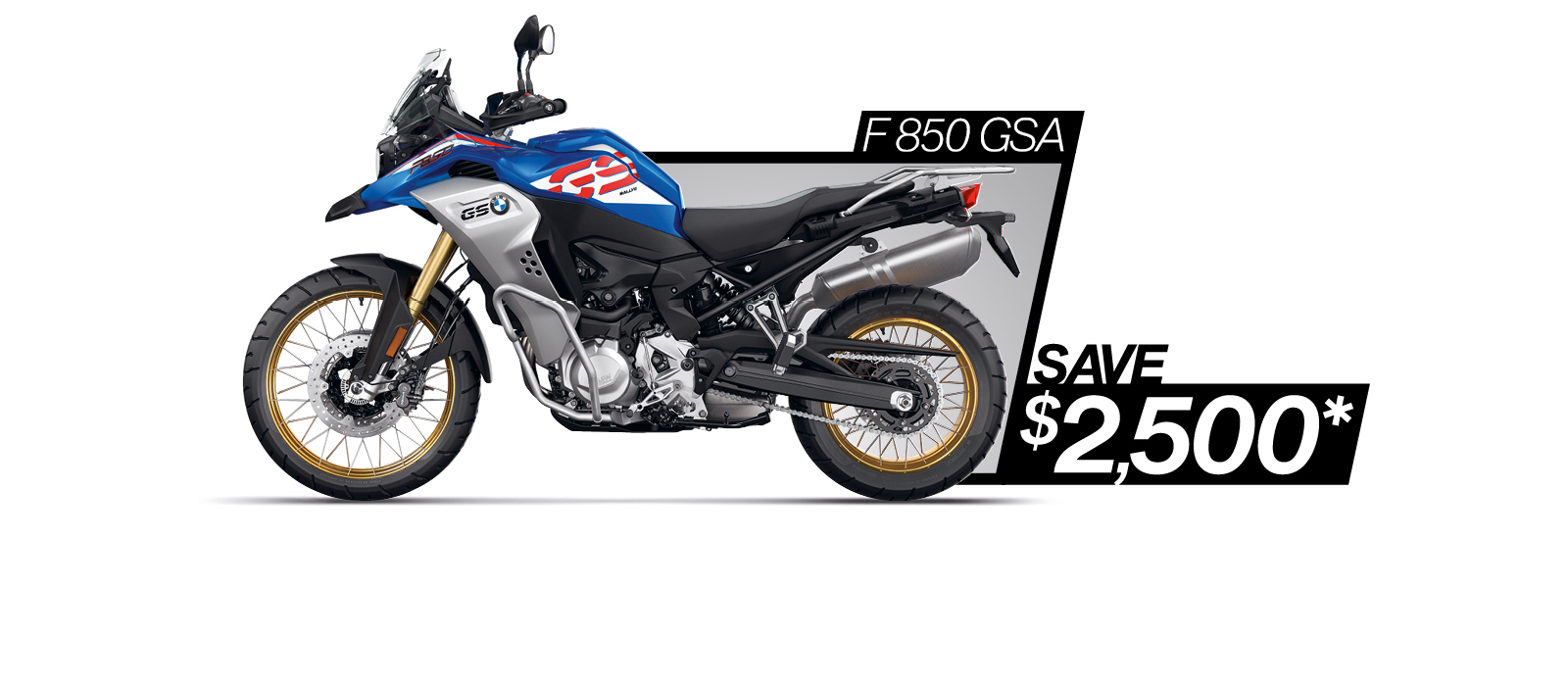 F 850 GSA on sale