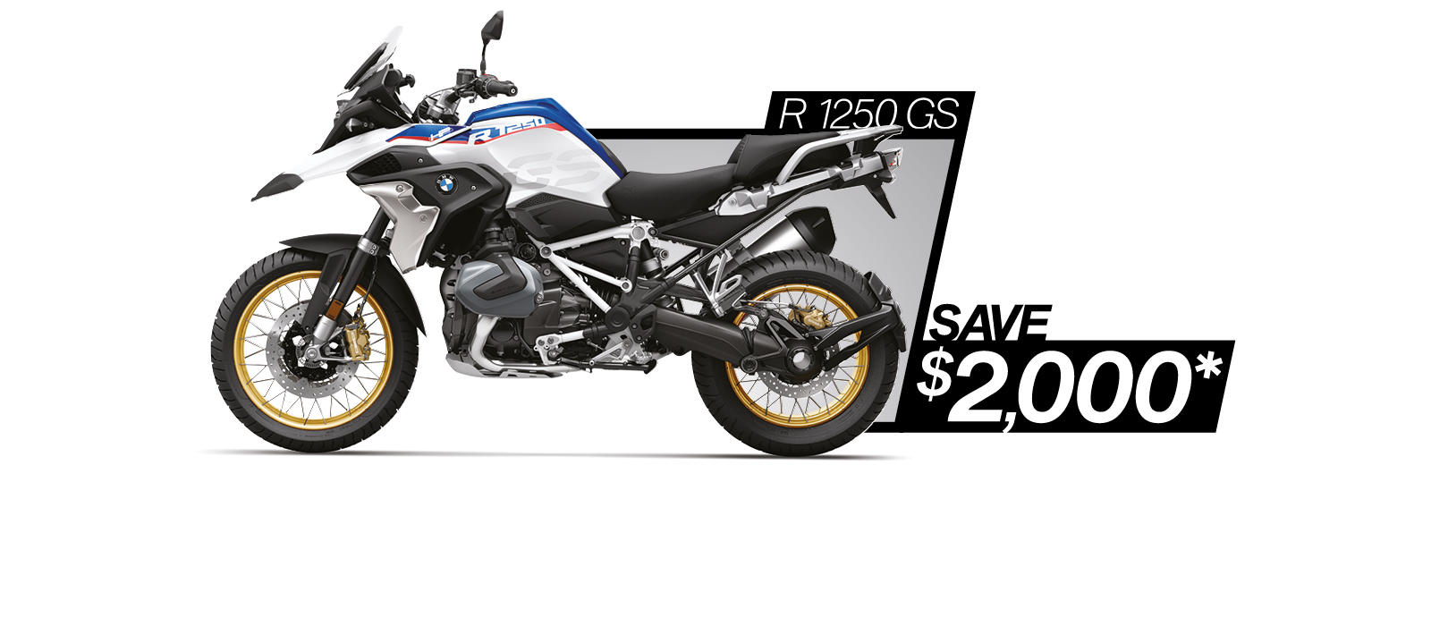 R 1250 GS on sale