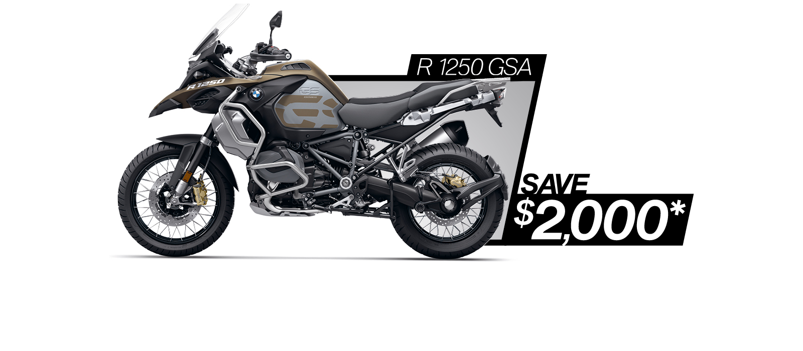 R 1250 GSA on sale