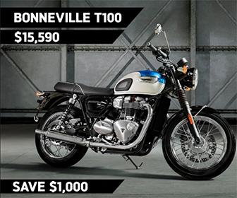 2019 Bonneville T100 on sale