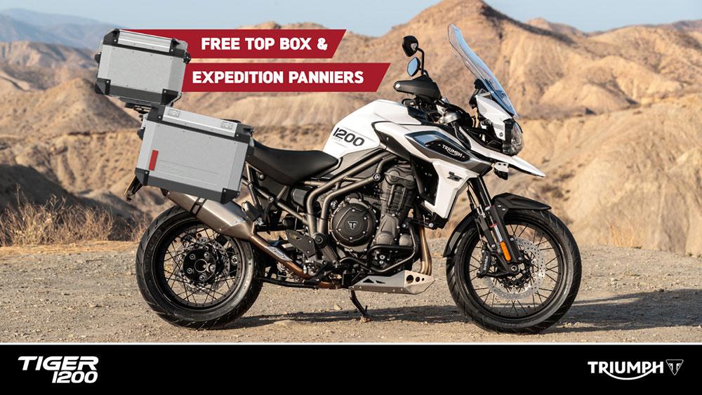 Pannier top box offer