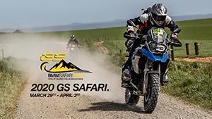 BMW GS Safari 2020