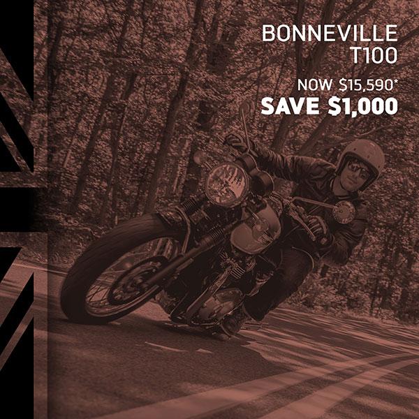Triumph Bonneville on Sale