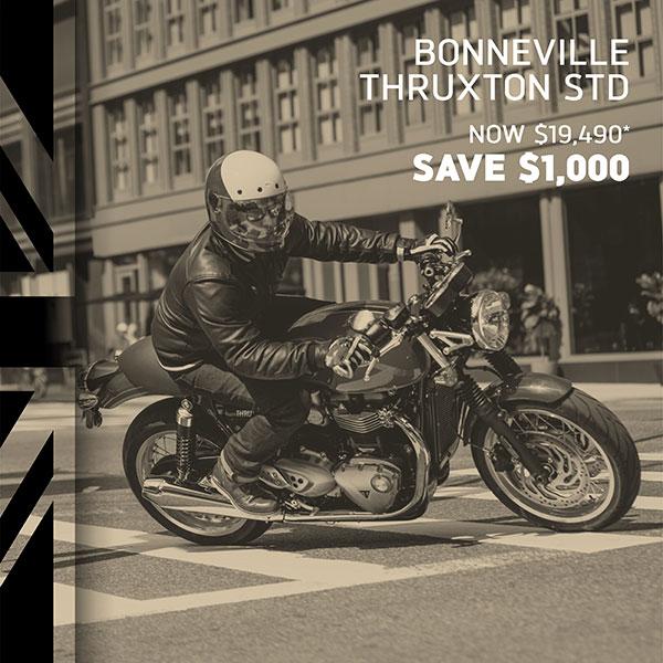 Triumph Bonneville Thuxton on Sale
