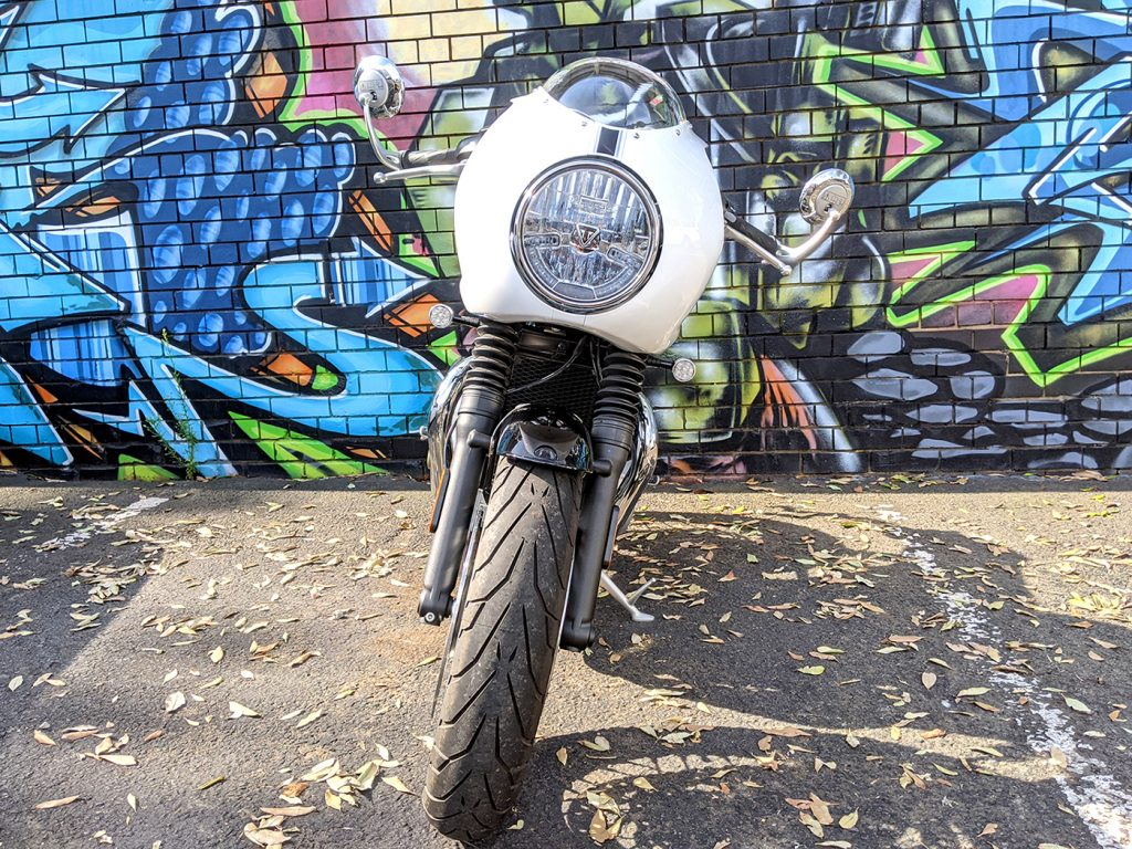 Customised Thruxton for sale