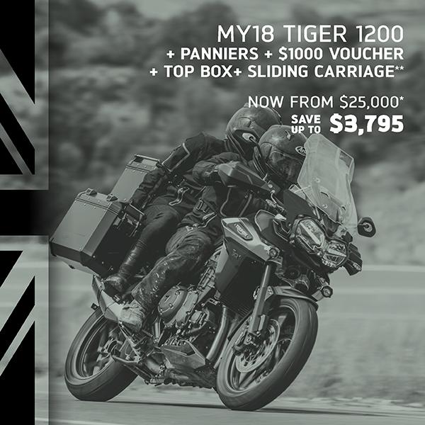 Tiger 1200 xcx Best of British Sale