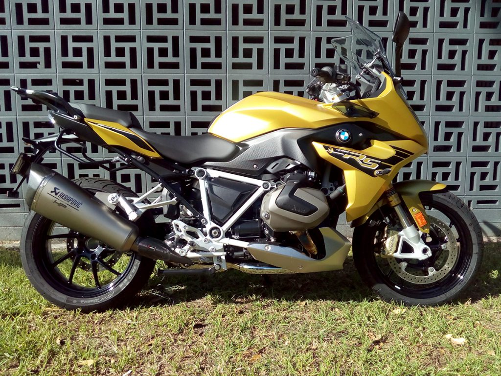 2020 BMW R 1250 RS Sport ex-demonstrator for sale
