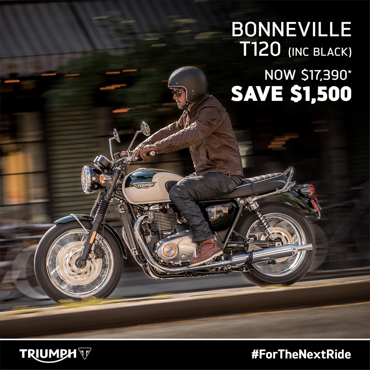Bonneville T120 On Sale