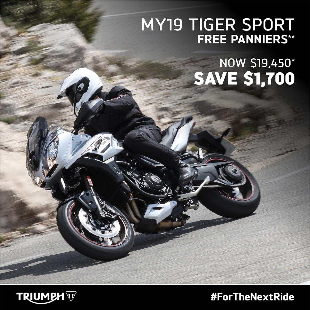 Tiger Sport on Sale
