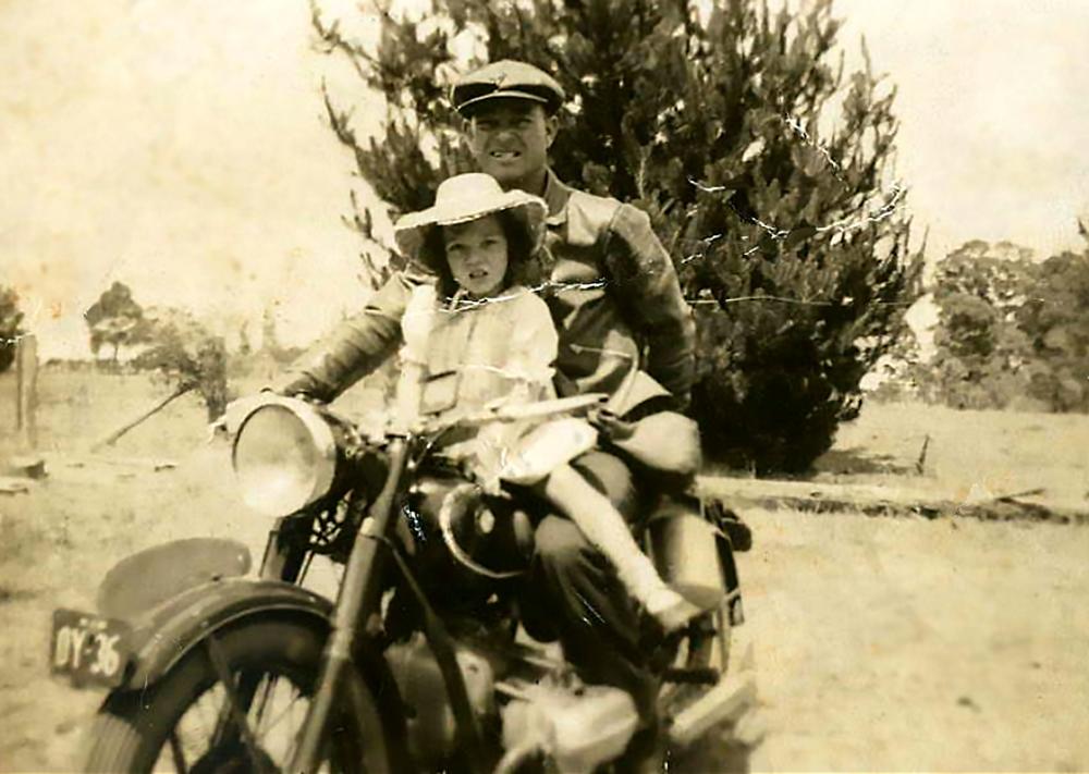 Ken with daughter Annette (Dwayne's Aunt)