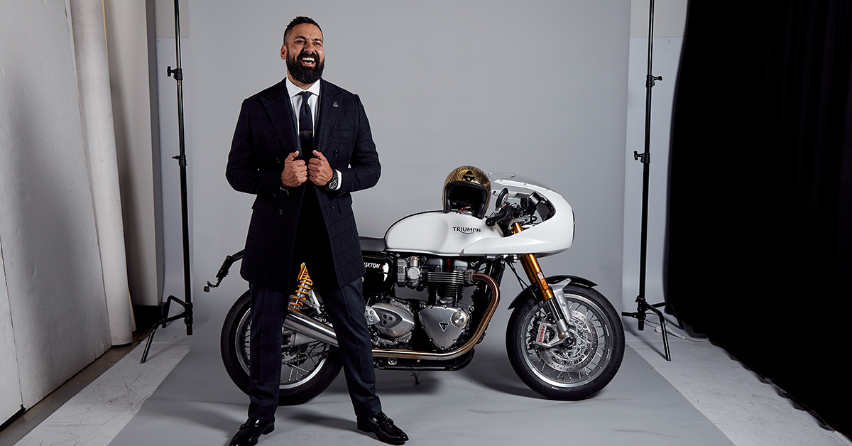 Mark Hawwa - Founder of the Distinguished Gentleman's Ride