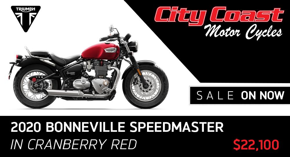 Bonneville Speedmaster 2020