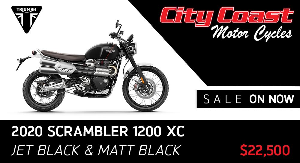 2020 SCRAMBLER XC BLACK